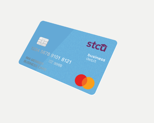 Illustration of the STCU Debit Mastercard