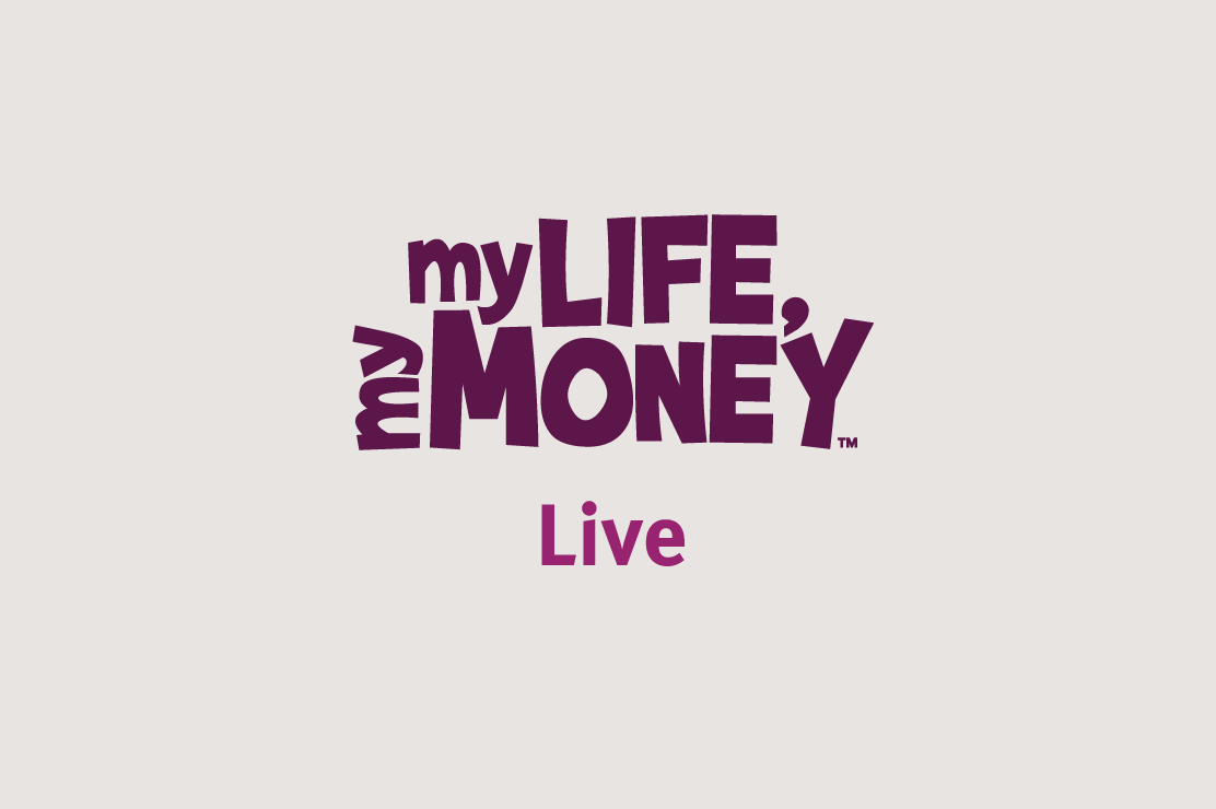 My Life, My Money Live logo