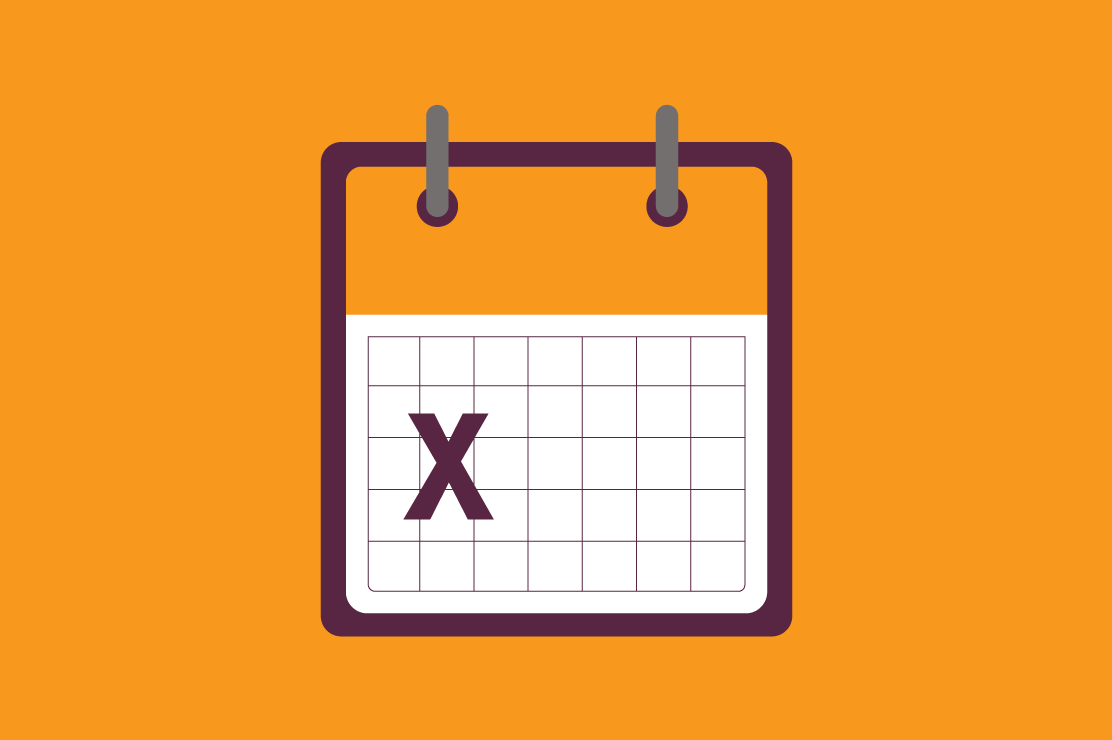 An illustration of a calendar with an arrow, suggesting that the loan payment may be deferred.