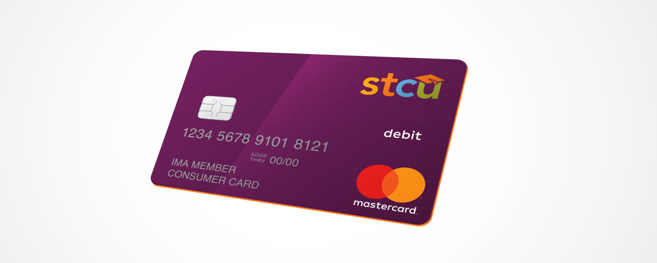 image of the stcu debit card - Custom Visa Debit Card